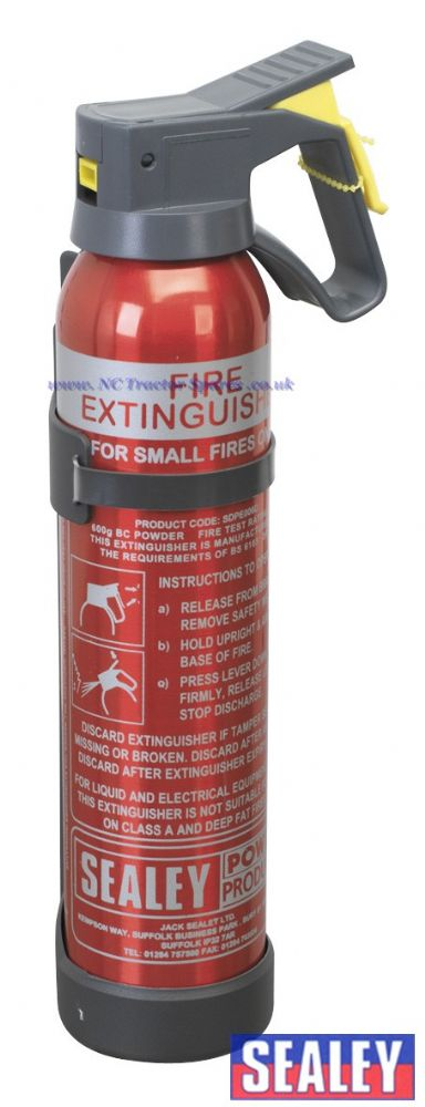 0.6kg Dry Powder Fire Extinguisher - Disposable